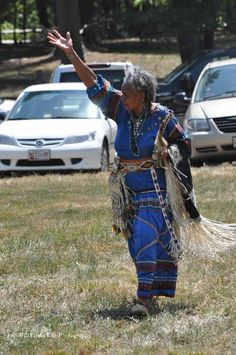 African Native American woman at 1st Annual Mountain Eagle Place Inter ...