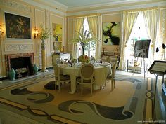 dining room at The Mount