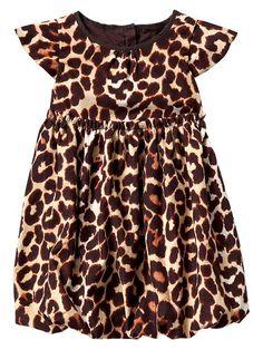 Gap | Leopard print cord dress