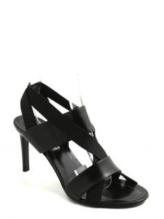 Balenciaga-sandalo nero-black sandal-Balenciaga Spring Summer 2015