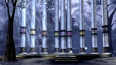 The pillars of nosgoth before their corruption