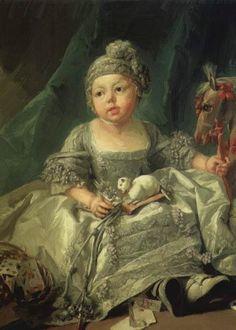 Louis Philippe of Orleans ~ Francois Boucher