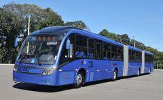 BRT Cidade do Rio de Janeiro - Scania/Neobus - Entrando em operação o maior articulado do mundo, com 28 m de comprimento e capacidade para 300 passageiros.
