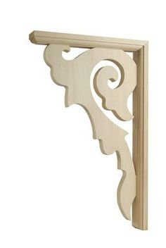 Phoenix Bloom Decorative Wood Bracket, Spandrel Arch - FD206 8.5x13.5 by Waddell. $14.57. Waddell Decorative Bracket For Exterior Porches, Overhangs Or Entryway Stain Or Painted Basswood Shrinkwrapped 14-1/2l X 9-3/4w X 1-1/2 Thick - Bloom Design All items sold new in original packaging