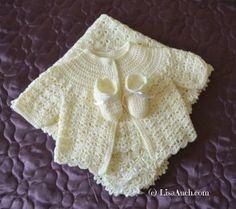 crochet baby- crochet baby set- crochet cardigan-booties-blanket- free crochet baby patterns- unique crochet stitches