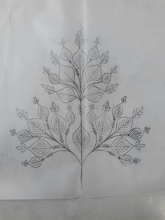 Zardosi Embroidery, Embroidery Motifs, Hand Embroidery Designs, Embroidery Flowers Pattern, Fabric Patterns, Flower Patterns, Pencil Design, Carving Designs, Wood Stamp