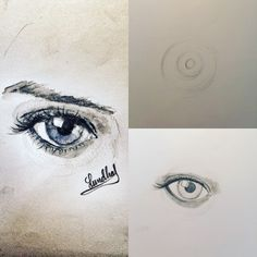 Eye warm up drawing ;)