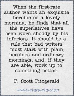 Quotable - F. Scott Fitzgerald