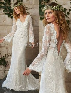 Are you interested in Bohemian Wedding? Do you love the idea of being married barefoot in a wooded glen? If so, you are a bohemian bride! Maggie Sottero Wedding Dresses, Wedding Dress Sleeves, Bohemian Bride, Bohemian Wedding Dresses, Bohemian Weddings, Bohemian Style, Hippie Chic, Dahlia, Bridal Gowns