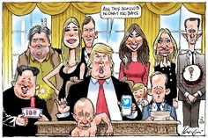 The work of our award-winning cartoonist