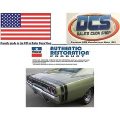 1968 Dodge Charger R/T Matte Black Tape Stripe Kit New MoPar USA Listing in the Mouldings & Trim,Exterior,Cars Parts & Accessories,Parts & Accessories,Cars & Vehicles Category on eBid United States | 161273501