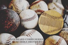 Beard comb Baseball by #BeardlyBrothers👊 Price 14,99$