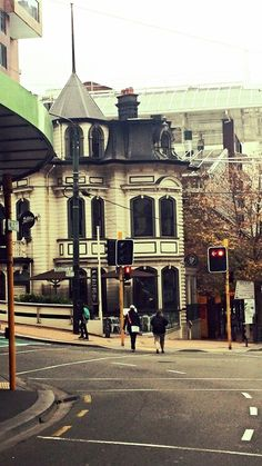 Beautiful old building in Wellington, New Zealand.