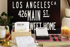 Use your own address. This is cool and looks easy to DIY