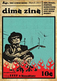 Dime Zine March Zine, Old And New, Poetry, Bring It On, Graphic Design, Blog, Movie Posters, March, Film Poster