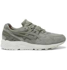 Asics - GEL-Kayano Suede and Rubber Sneakers