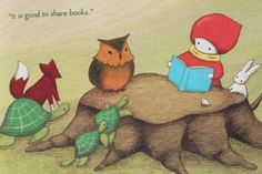 Red Knit Cap Girl and the Reading Tree, Naoko Stoop.