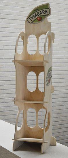display plywood tymbark lichtgewicht eco counterdisplay