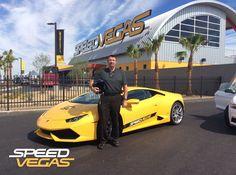 Nothing beats racing on the longest straight in Las Vegas #SPEEDVEGAS