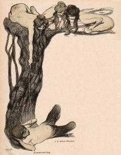 The Occult Gallery — solar-aestheticss: J. Art Inspo, Graphic Design Illustration, Illustration Art, Art Nouveau, Hippie Art, Art Graphique, Fantasy Artwork, Gravure, Ex Libris