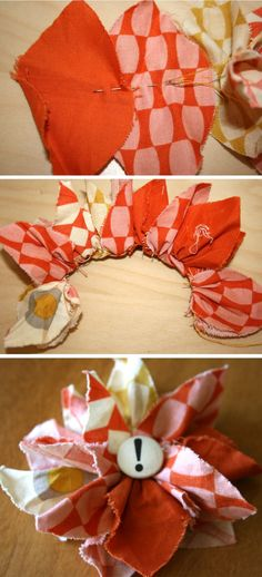 Fabric Flower | 2TWENTY-THR3E fabric