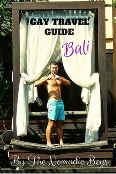 Nomadic Boys - If you enjoyed reading about our gay Bali experience, please share it or pin this image of ring deprived Stefan doing a heart shape to you: