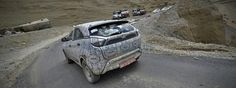 Tata Nexon spied again in Clear shots   With the launch Tata Hexa nearing Tata motors is gearing up itself on the Nexon crossover. The crossover has made its presence on the roads several times. In these spy images you will see two test mules but on a closer look the two cars seem to be different. Here in the spy shots the car is wrapped with heavy camouflage but the number plates are quite noticeable with the letters M and D.  The two car sports projector headlamps two tone Wing mirror mesh…
