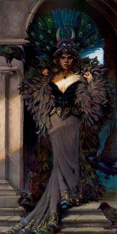 ✯ Raven Queen :: Artist Aaron Miller✯