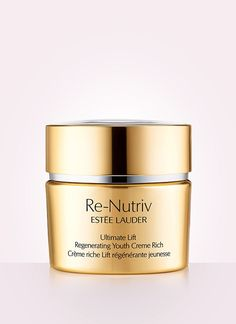 Estée Lauder  Re-Nutriv Ultimate Lift Regenerating Youth Creme Rich - a life savior, survival necessit & miracle. I am a loyal fan of Estée Lauder beauty products. This is my recent discovery and it is effective within a few days - feels good and adds radiance.