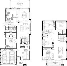 Double Storey House Plans plans story storey floor plan double house Amherst Double Storey Display Floor Plan
