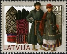 Southern Latgale mittens and winter costumes, Latvia