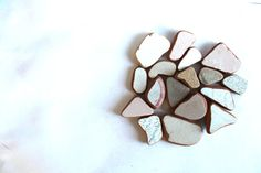 genuine beach pottery shards undrilled jewelry by SeaZephyr, $10.00