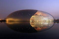 NY 타임즈에서 Reshaped 베이징의 건축 기념비 - 나의 현대 메트로 폴리스