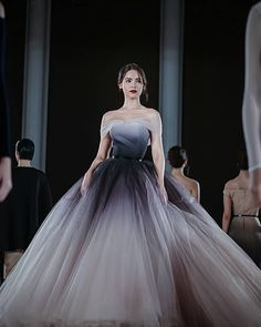 I vote Urassaya Sperbund from Thailand 🇹🇭 for… Ombre Prom Dresses, Beautiful Prom Dresses, Quinceanera Dresses, Pretty Dresses, Wedding Dresses, Ball Gown Dresses, 15 Dresses, Evening Dresses, Fashion Dresses