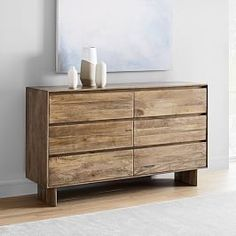 Crafted from durable, solid mango wood that beautifully highlights the natural grain of the wood, our Anton Dresser is a sleek way to bring the warmth of rustic farmhouse pieces to the bedroom. As a Fair Trade Certified™ product, each piece … Wood Dresser, 6 Drawer Dresser, Wood Buffet, Solid Wood, Wood Nightstand, Oversized Furniture, Solid Wood Bed, Wood Media Console, Furniture