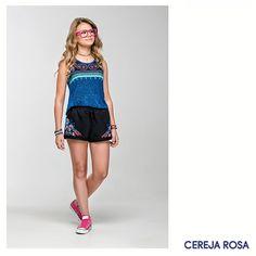 Sua personalidade merece ser valorizada com looks estilosos, diferenciados e alegres... Essa regatinha Cereja Rosa, então? Como não ter no armário? www.cerejarosa.com.br  <3 #CerejaRosa