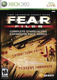 FEAR Files  Xbox 360 ** Check this awesome product by going to the link at the image. Note:It is Affiliate Link to Amazon. #LatestVideoGames