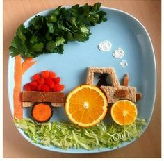 food art for kids lunch ~ food art for kids & food art for kids easy & food art for kids crafts & food art for kids painting & food art for kids edible & food art for kids creative & food art for kids lunch & food art for kids dinner Cute Snacks, Fun Snacks For Kids, Cute Food, Kids Meals, Good Food, Lunch Kids, Food Art For Kids, Children Food, Kids Food Crafts