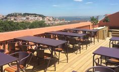 Located on the top of an ancient building, restaurant/bar Insólito provides truly outstanding food and the view accompanying it makes the entire experience even better. Discover other restaurants & hotspots that locals love in Lisbon: Portugal, Stuff To Do, Things To Do, Ancient Buildings, Outdoor Tables, Outdoor Decor, Where To Go, Around The Worlds, Tours