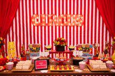 Tema de festa: Circo 2 - Crescer   Temas