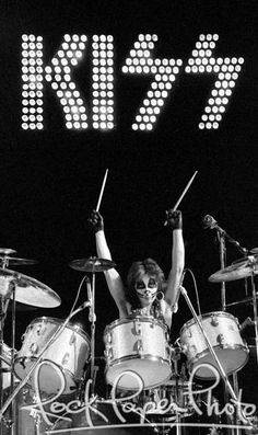 Peter Criss by Len DeLessio www.RockPaperPhoto.com