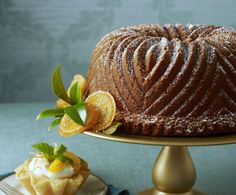 This easy Mandarin Orange Bundt Cake Recipe is made with a two-layer yellow cake mix. How easy is that?