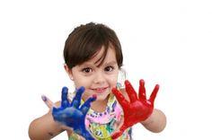 Técnicas de pintura para a educação infantil