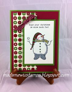 Stampin' Up! Snow Much Fun Christmas