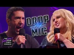 In this 'Late Late Show' rap battle, MC'd by Reggie Watts, it was initially Corden against 'Friends' star David Schwimmer. Then Rebel Wilson joined. David Schwimmer, James Corden Wife, Reggie Watts, Ross Geller, American Crime Story, Rebel Wilson, The Late Late Show, Rap Battle, I Love To Laugh