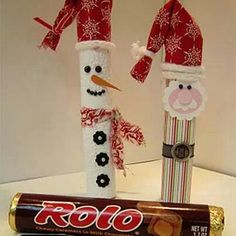 http://www.scrapbooking247.com/santa-and-snowman-rolo-candies/