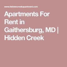 Apartments For Rent in Gaithersburg, MD   Hidden Creek