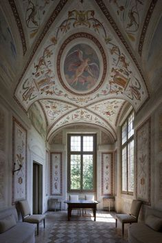 Villa Foscari ~Villa Foscariis apatricianvillainMira, nearVenice, northernItaly, designed by the Italian architectAndrea Palladio.