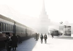 Gallery of Trans-Siberian Pit Stops Competition Showcases Structures that Interact with Frigid Environment - 5
