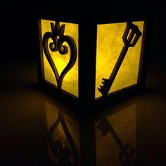 Kingdom Hearts light box 3 by BurntPixels on Etsy